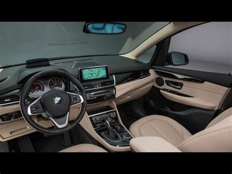 Bmw 2 Interior by 2015 Bmw 2 Series Gran Tourer Interior Detailed 53 Photos