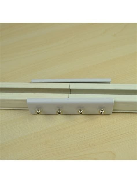curtain rods with drawstrings on side eliott a20 aluminum alloy drawstring single curtain track