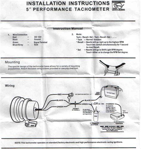 autometer c2 tach wiring diagram efcaviation