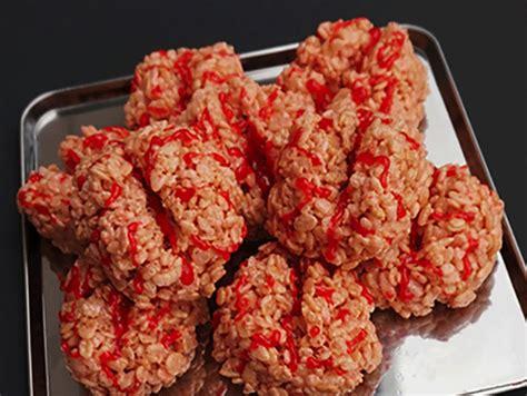 rice krispy brains  menu