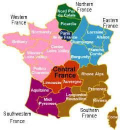 France Wine Map by Wine Region Hairulsadikin