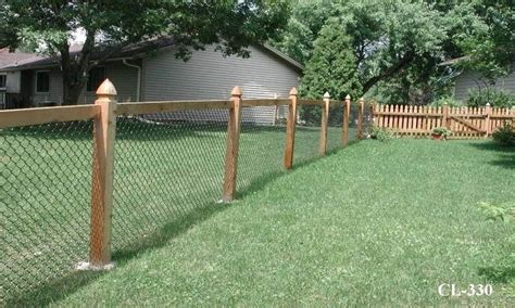 fence ideas for large yard inexpensive see through fence landscaping lawn care diy chatroom diy home improvement