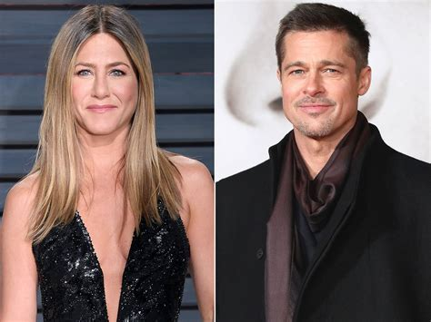 Is Jen Aniston Spending W The Pitts by Brad Pitt And Aniston Been In Touch Via Text