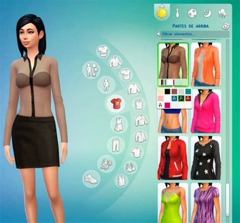 Ayla Blouse transparent blouse at ayla s sims 187 sims 4 updates