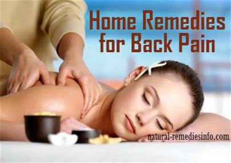 Home Remedies Back by 10 Remedies For Easing Back