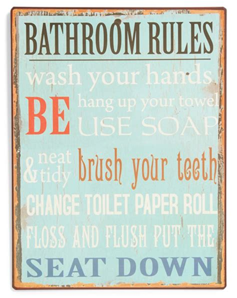 bathroom rules art bathroom rules wall art everything turquoise