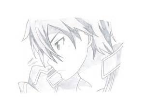 Online Drawing Sword Art Online Kirito By Snowmiku2 On Deviantart
