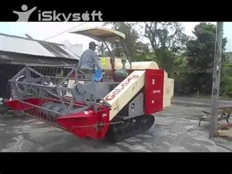 Mesin Panen Padi Mesin Mobil Panen Padi Combine Harvester Galaxy