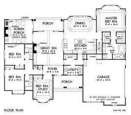 open house plans with photos home plan the peyton by donald a gardner architects