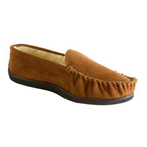 mens house shoes alpine swiss sabine womens suede shearling moccasin
