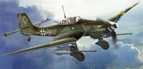 junkers ju    stuka rudel german iiww dive bomber art