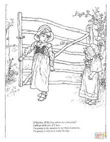 coloring pages of free willy willy boy willy boy where are you going nursery rhymes