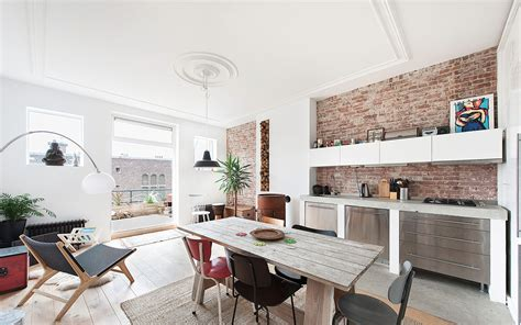 Apartment For Netherlands Top Floor Apartment Gets A Modern Renovation