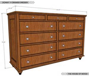 Build A Bedroom Set How To Build A Dresser