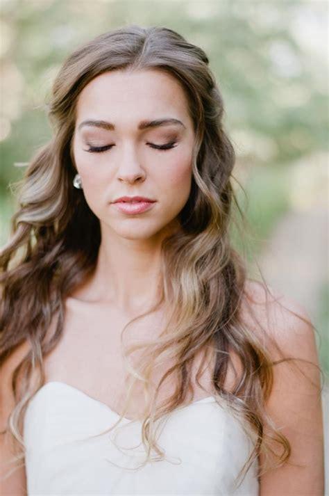 hairstyle favourites soft loose curls wedding hair tutorials sweet wedding fryzury ślubne rozpuszczone włosy