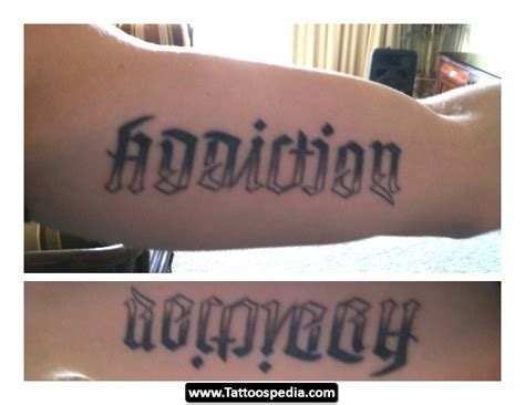 tattoo recovery addiction recovery tattoos tattoospedia