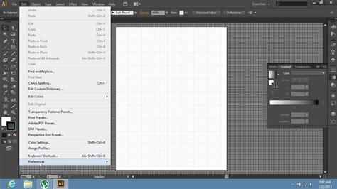 adobe illustrator cs6 remove background how to change grid size in adobe illustrator cs6 youtube