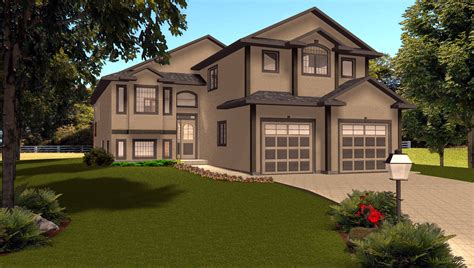 Split Level House Plans With Attached Garage Split Level House Plans Attached Garage Modified Architecture Plans 14713