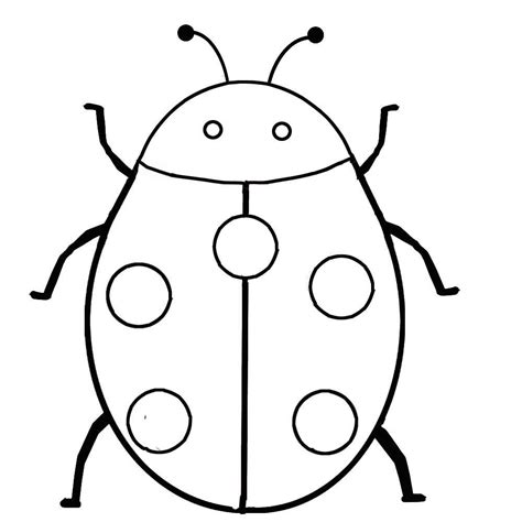 Coloring Pages Best Ladybug Coloring Pages For Kids Basic Coloring Pages 2