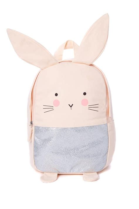 Rrrribbit In My Bag by Animal Backpack With Floppy Ears Our Pink Bunny