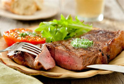 Small Living Room Decor Ideas Grilled Strip Steak With Compound Butter