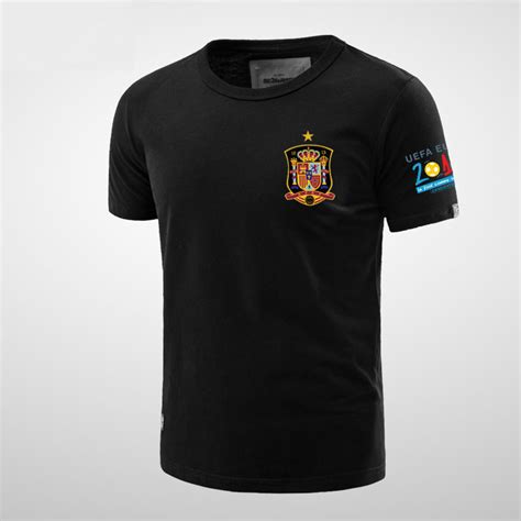 T Shirt Spain Euro2016 uefa 2016 spain national football team flag t shirts
