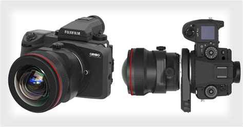 buy medium format cambo adapter lets you use canon ef lenses on fuji s