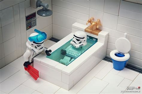 lego bathroom take a bath stormtroopers pinterest