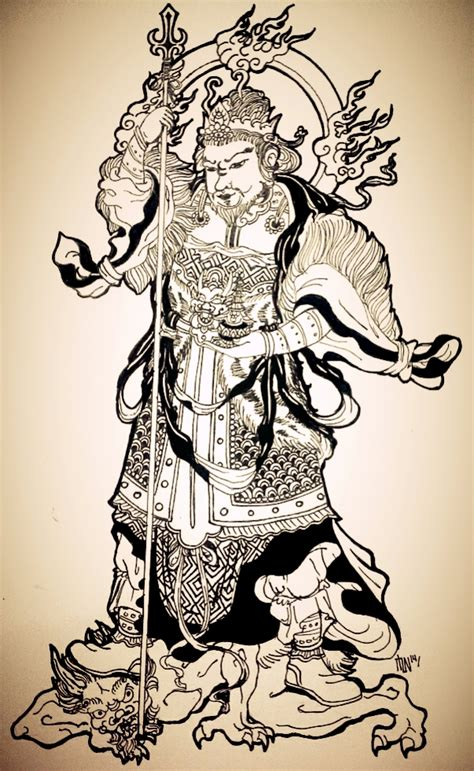bishamonten the fierce warrior of buddhism