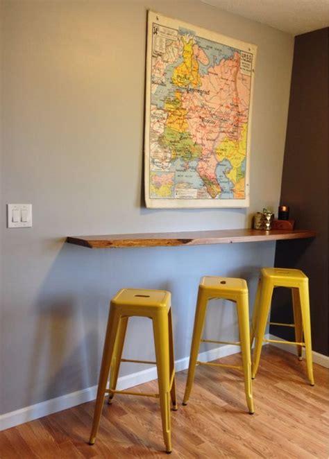 floating breakfast bar wall mounted breakfast bar