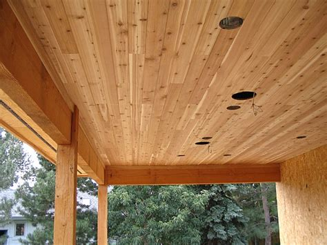 Tongue And Groove Cedar Ceiling by Cedar Tongue Groove Ceiling Lonestar Patio Cover Builders