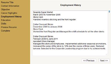 Resume Builder Exe Business Office Suites Tools Freeware Software Imfreeware