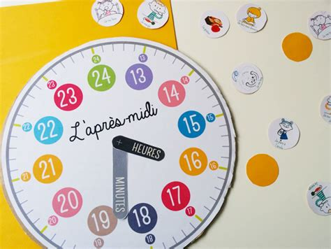 Fabriquer Horloge by Fabriquer Une Horloge Momes Net