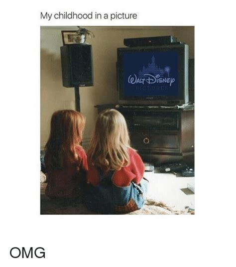 Omg Girl Meme - my childhood in a picture act disne omg omg meme on sizzle
