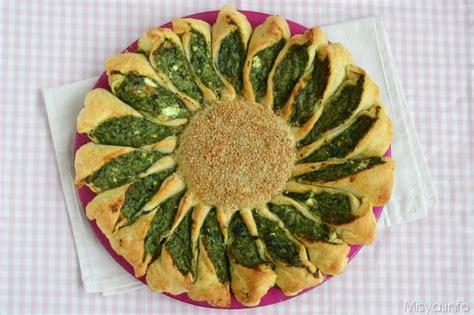 torte fiore 187 torta fiore ricotta e spinaci ricetta torta fiore