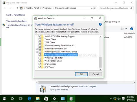 tutorial install xp ubuntu brylefeeds windows 10 s ubuntu bash how to enable tutorial