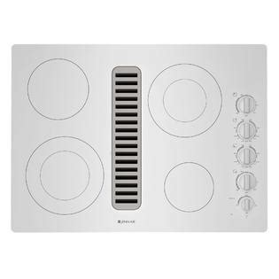 jenn air radiant cooktop jenn air jed3430wf 30 quot electric radiant downdraft cooktop