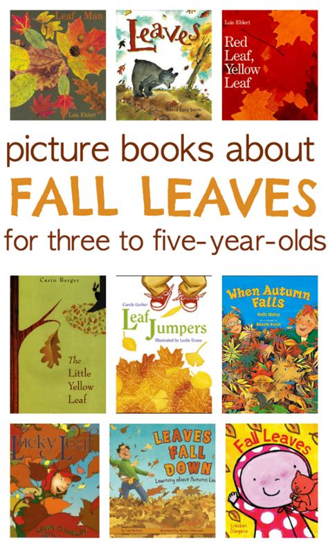 fall of books 9 books about fall leaves no time for flash cards