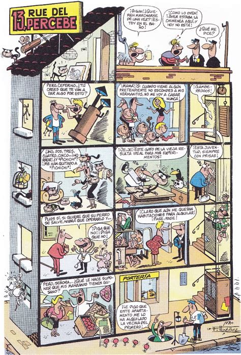 13 rue del percebe 13 rue del percebe por francisco ibanez primera historieta publicada en la revista tio vivo el