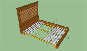 Bed Frame Diy Plan King Size Bed Frame Plans Bed Plans Diy Blueprints