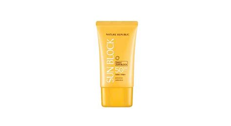Harga Nature Republic Sunblock Spf 50 nature republic daily sun block spf 50 reviews sandeepweb