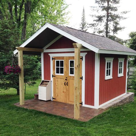 build a backyard shed reader project shed the family handyman