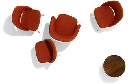 Wall Clocks by Saarinen Executive Side Chair With Metal Legs Hivemodern Com
