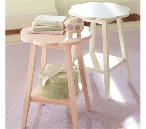 nursery accent table small side table for baby girl s nursery miss tessa