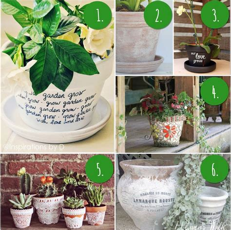 10 diy flower pot painting ideas cute gifts to make