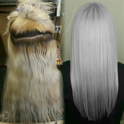 Toner Makeover makeover diy bleacher to professional and icy white career modern salon