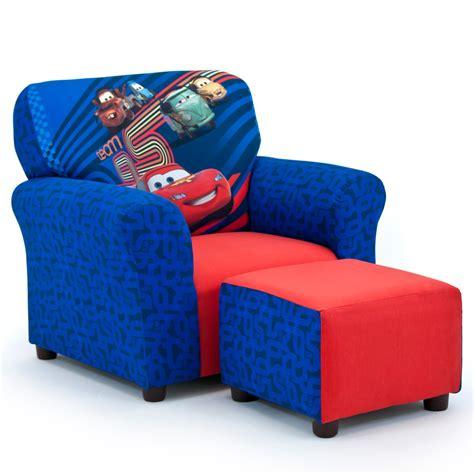 Disney Cars Armchair by Disney Cars 2 Club Chair And Ottoman Set