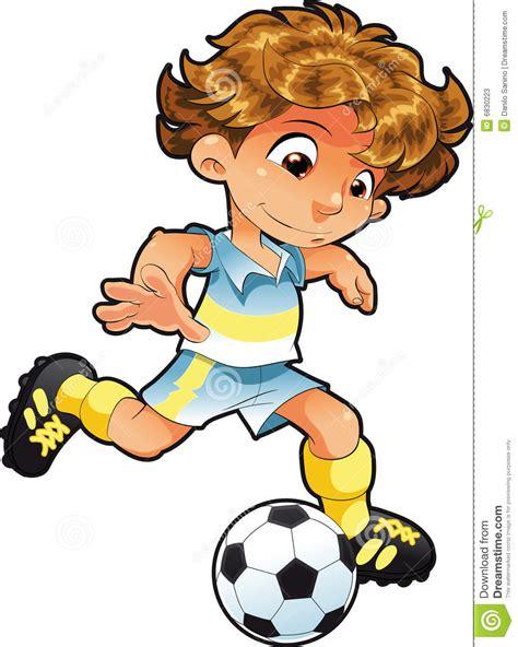 clipart calcio bambino calcio giocatore illustrazione vettoriale