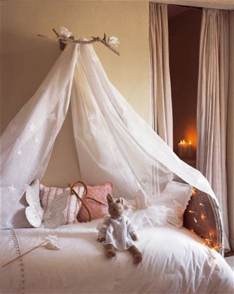 Wall Mounted Bed Canopy Room Bed Canopy Sheer Bed Curtain Ideas Kidspace Interiors