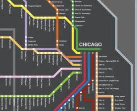 Map Of Chicago Metra by Fancy Cta Map I Miss Chicago Favorite Places